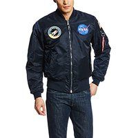 Alpha Industries Men's NASA MA-1 Bomber Flight Jacket