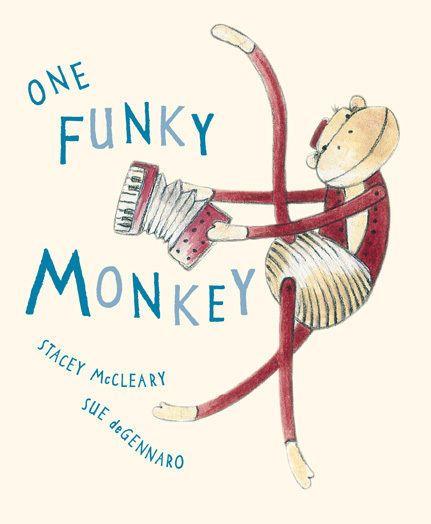 One Funky Monkey Board Book