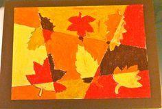Feuilles d'automne - La classe de Luccia !