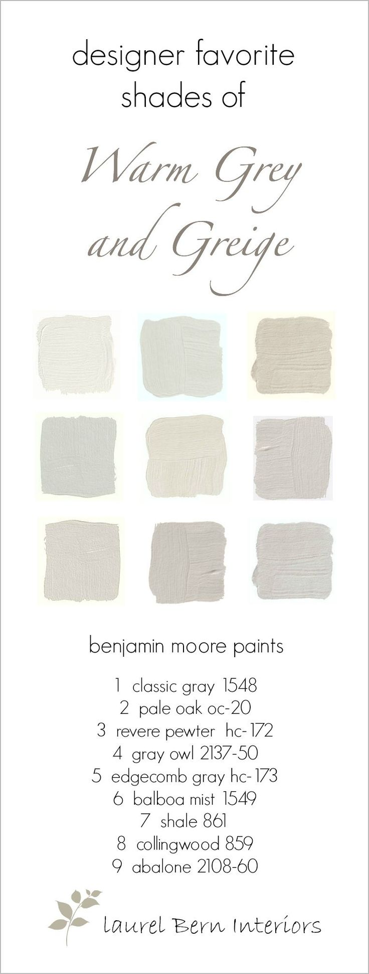 This post is about warm gray paint colors or sometimes we call the color, greige.Greige if you don't know is a term for a color that looks like yesterday's oatmeal. It's become wildly popular.In plain English, it's gray and beige combined. When darker, the term is bray or you got…