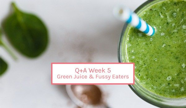Q+A :  GREEN JUICE + FUSSY EATERS. When children go off their food over a relatively short space of time then the first thing I look at is the amount of iron and zinc they are getting through their diet. Iron is an important nutrient for growth and energy, but it also influences appetite. Iron-deficient children often have low appetites and start to dislike foods they would normally eat....