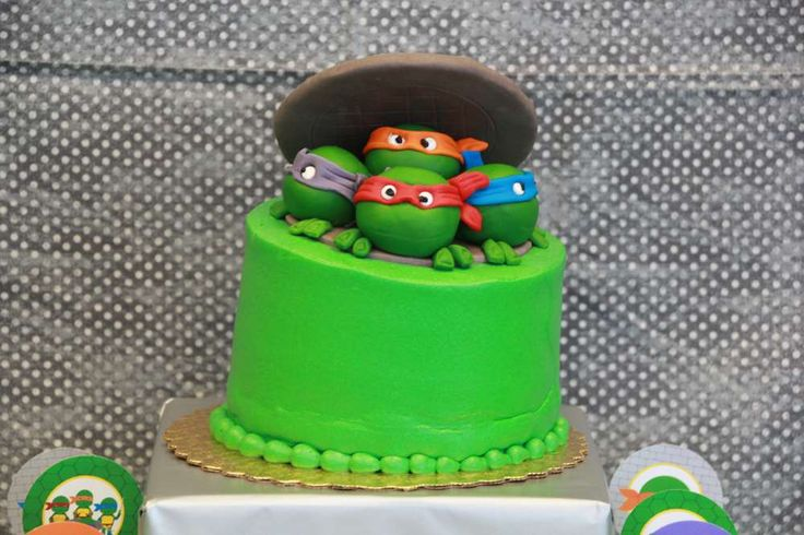 Ninja Turtle Party | CatchMyParty.com