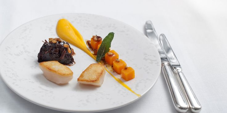 Seafood extraordinaire Tony Fleming presents a remarkable surf and turf dish on Great British Chefs, pairing succulent scallops with beer-braised beef
