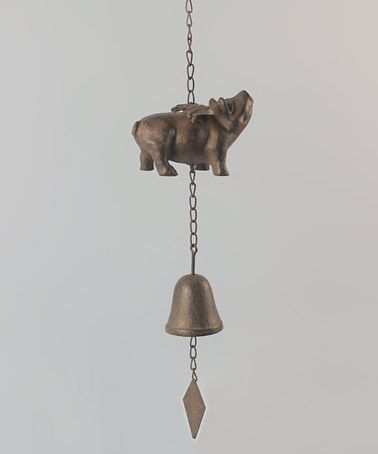 Take a look at this Pig Bell by Young's on #zulily today!