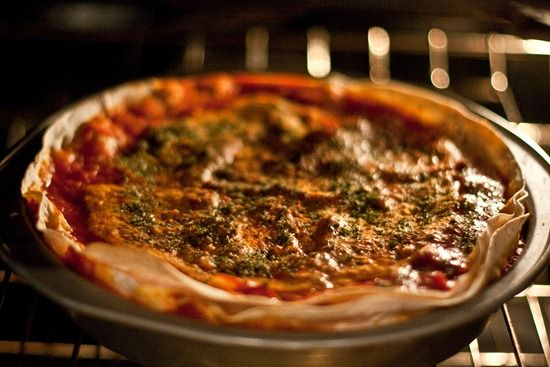 Mexican Tortilla Pie - great recipe, but I used real cheese instead of ...