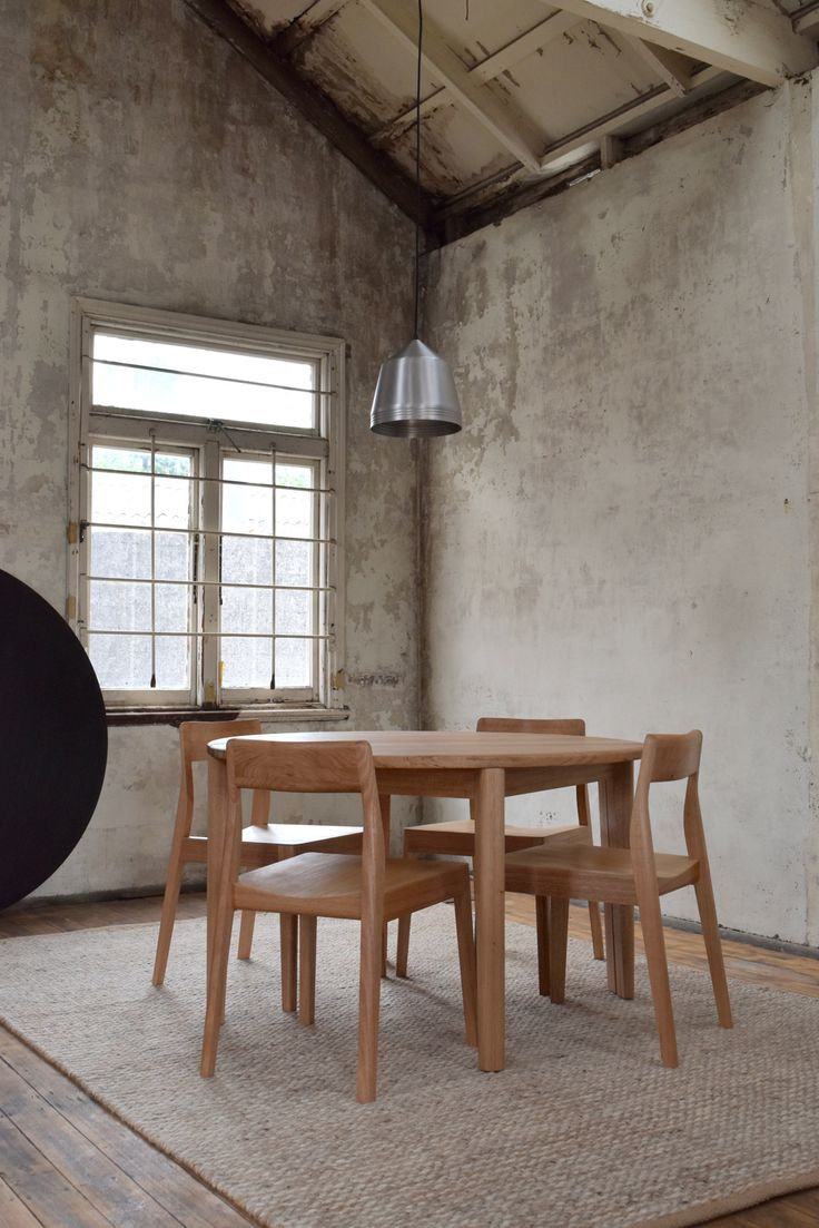 Felicity dining table and Rose dining chairs