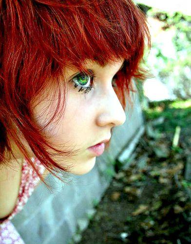 Cute haircuts for redheads