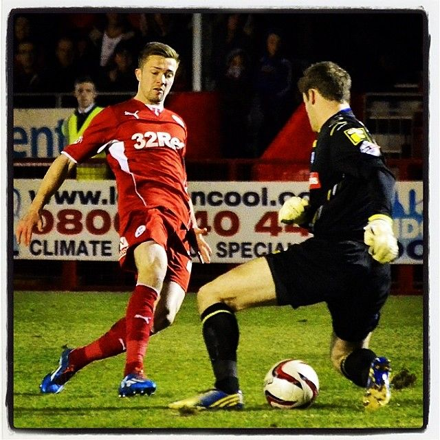 2-0 #football #soccer #skybet #leagueone #crawley #town #sussex #checkatrade #stadium #gwion #edwards