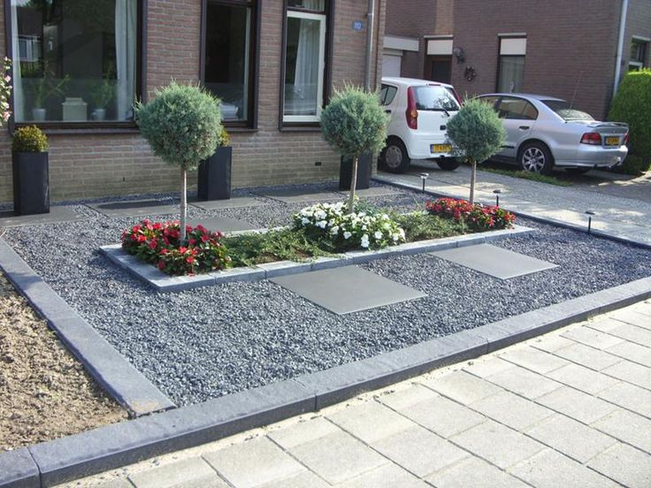 Grind tuin google zoeken voortuin pinterest gardens front yards and garden ideas - Tuin grind decoratief ...