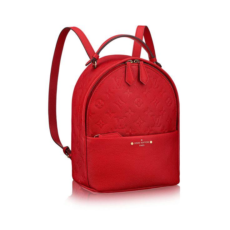 Sorbonne Backpack via Louis Vuitton
