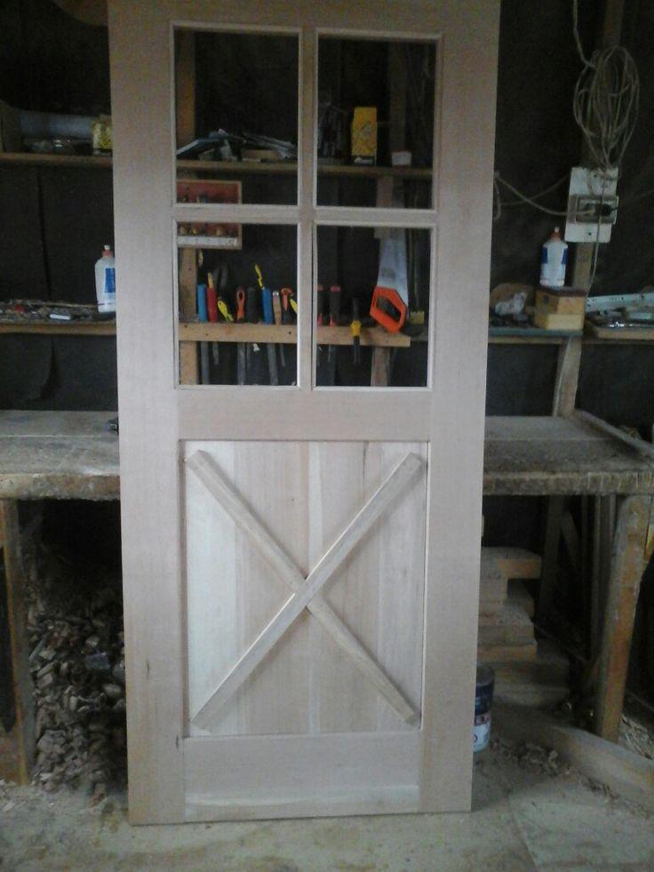 Puerta madera lenga