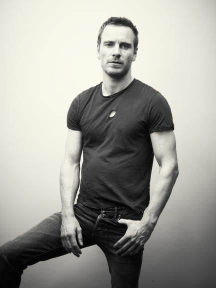 """""""Why yes, Mr. Fassbender, I would love to have you over for tea."""""""