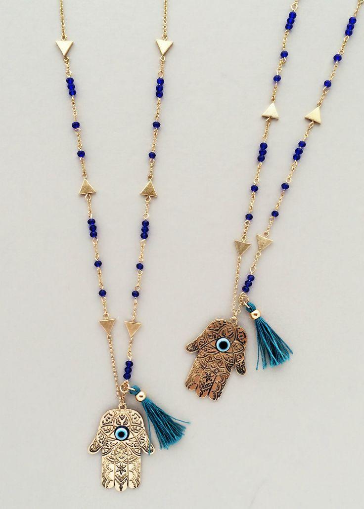 Casablanca Hamsa Necklace
