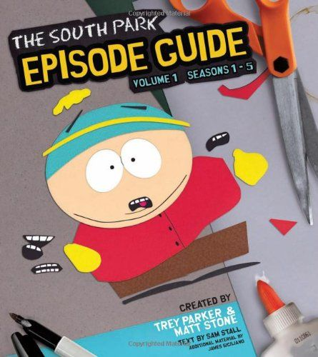 The South Park Episode Guide Seasons 1-5: The Official Companion to the Outrageous Plots Shocking L @ niftywarehouse.com #NiftyWarehouse #SouthPark #ComedyCentral #TVShows #TV #Comedy