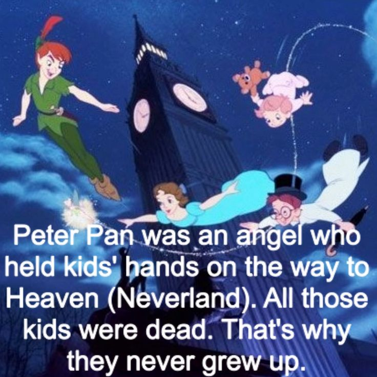The truth about Peter Pan. I love this movie!! It all