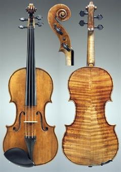 ANTONIO STRADIVARI A VIOLIN, KNOWN AS THE PENNY, CREMONA, CIRCA 1700, Labeled…