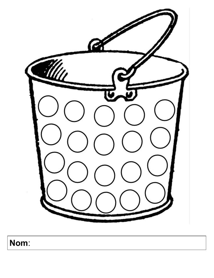 Bucket Filling Set English and French Resource Preview