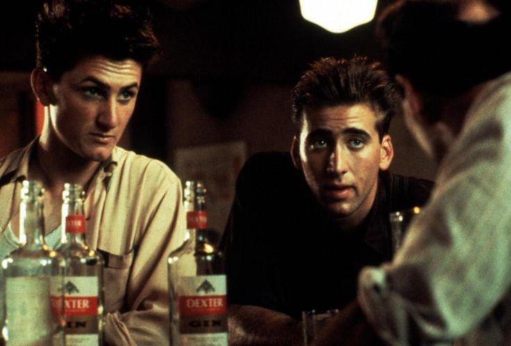 RACING WITH THE MOON, Sean Penn, Nicolas Cage, 1984   Essential Film Stars, Sean Penn http://gay-themed-films.com/film-stars-sean-penn/
