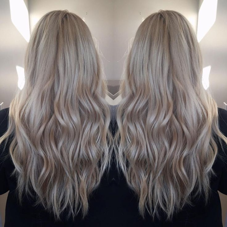 """""""The lighting at the new salon is took her from an all over yellow blonde and level 5 root with an inch or so of re growth, to this icy bombshell blonde …"""""""