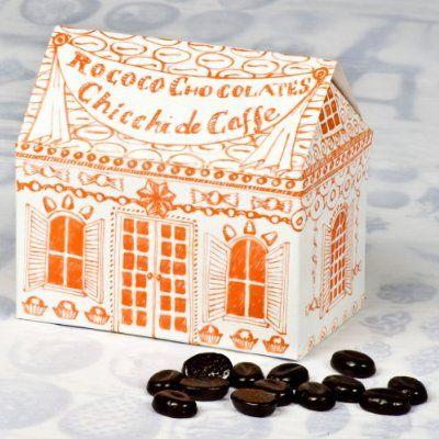 Rococo chocolates - Chicchi di Caffe in Orange Rococo House