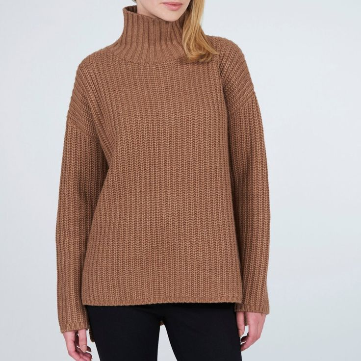 Funnel Neck Top - Cinnamon – Lily & Carter London