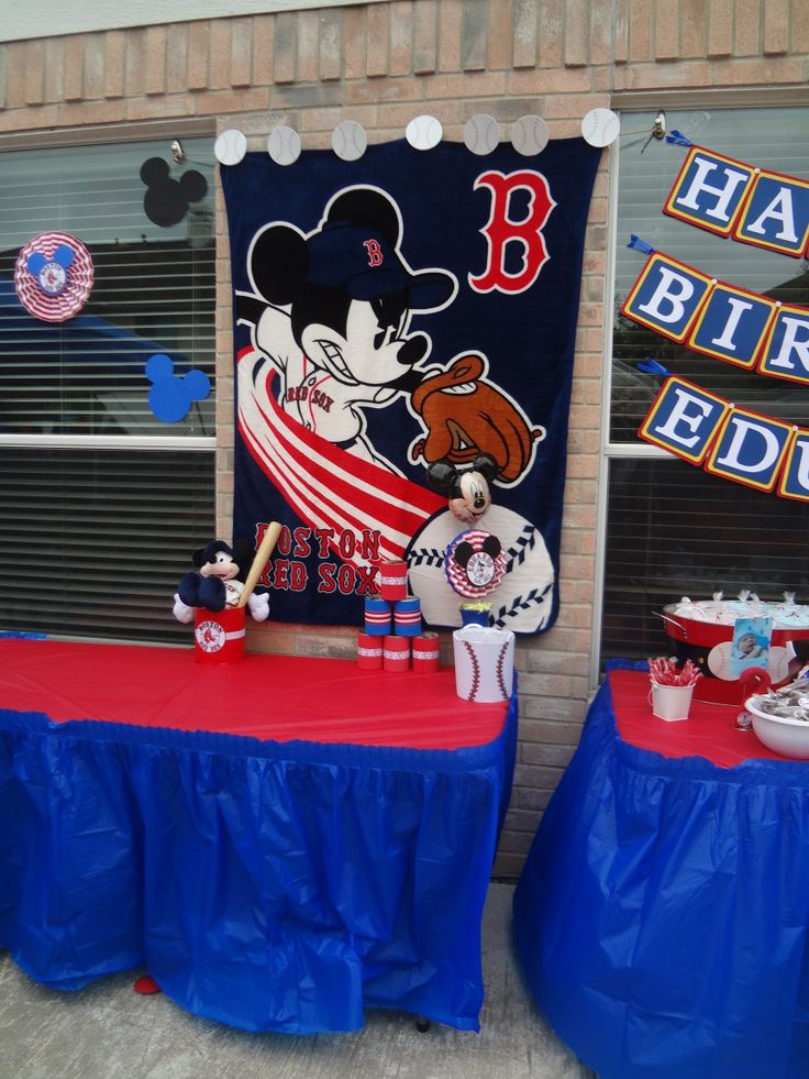 1000 Images About Mickey Mouse Baseball Decor On
