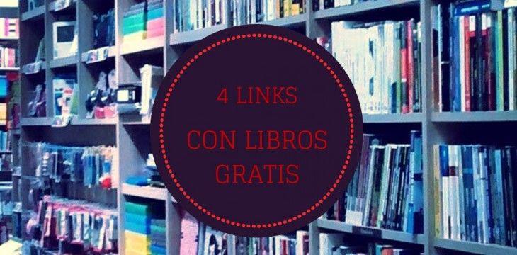 Conoce sobre 4 links para quien busca libros gratuitos