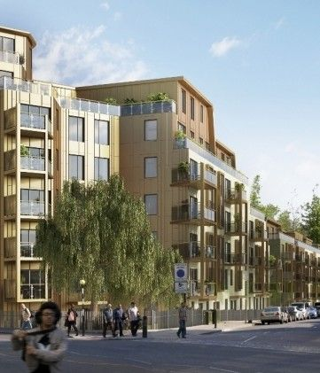 BDP has secured detail planning consent for its competition winning housing and regeneration project at Tollgate Gardens in Maida Vale, Lond...