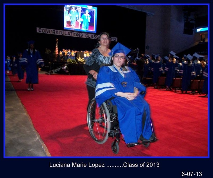 Here is Me and My daughter Luciana Marie. on Graduation Friday Morning :)  I am one Happy & Proud Mamma....We did it Luci...♥..  Thank You God ♥..For seeing us through.. :)