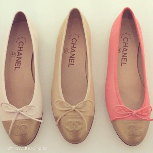 Pink ones are on my wish list  (at CHANEL Boutique)