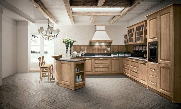 Cucine in legno Stosa Bolgheri