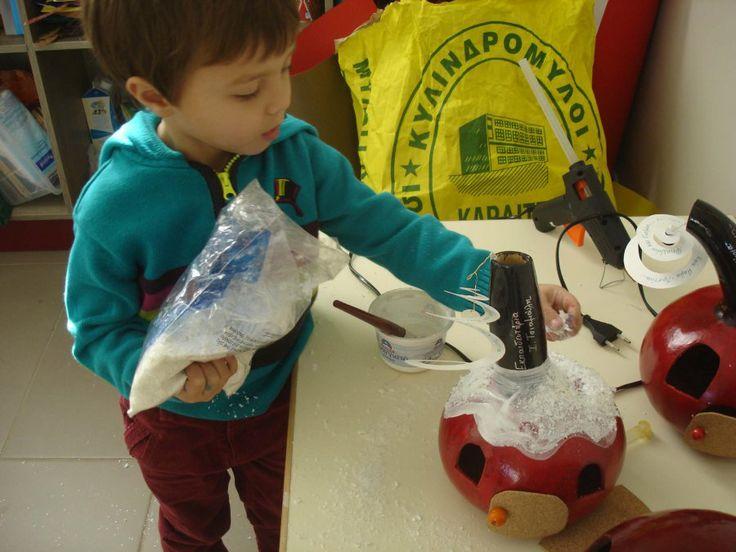 Εορταστικές κατασκευές από τον Παιδικό Σταθμό | ΕΚΠΑΙΔΕΥΤΗΡΙΑ Ι. ΤΣΙΑΜΟΥΛΗ