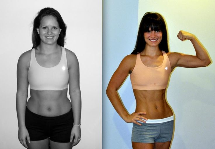 Amazing results! All done with Insanity... starting this ...