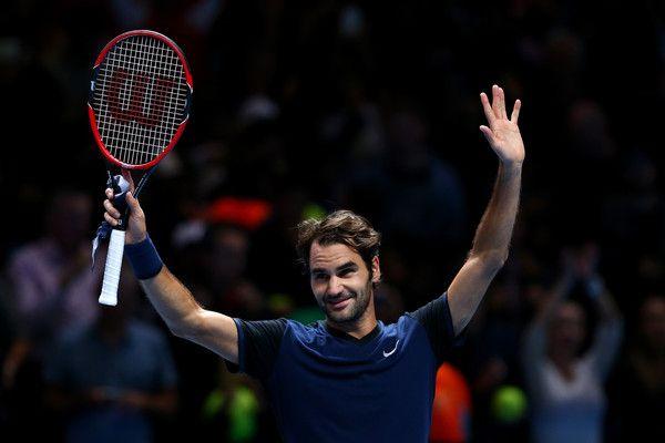 Roger Federer Photos - Barclays ATP World Tour Finals - Day Seven - Zimbio