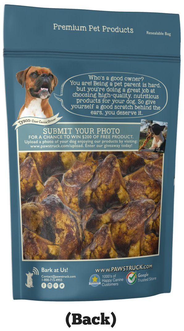 Pawstruck Knee Cap Bones Dogs 10 Bones Made In Usa And Natural