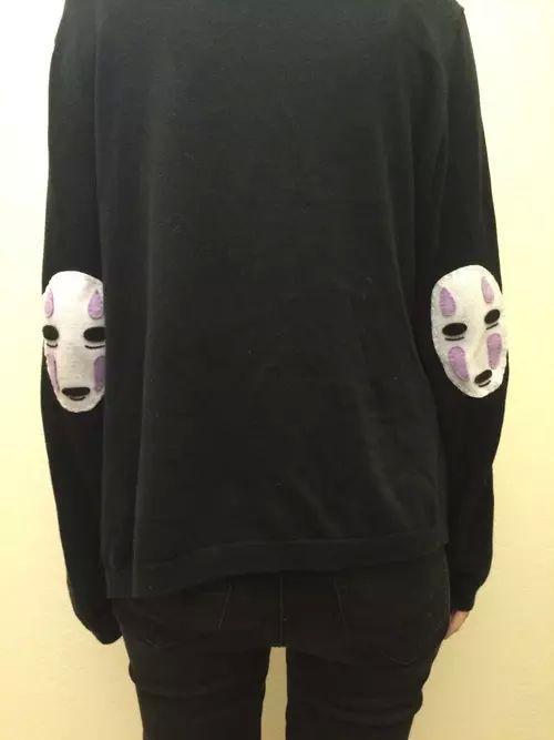 Spirited Away Sen to Chihiro no Kamikakushi sweatshirt with No Face