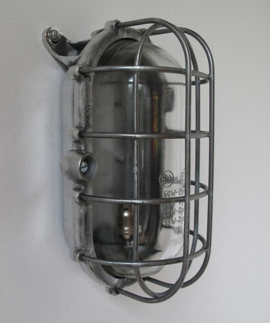 Caged 50s Wall Lights: Vintage,