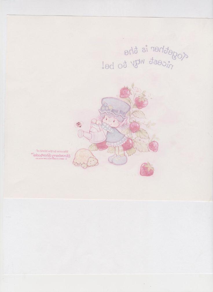 Mejores 301 imágenes de Vintage Strawberry Shortcake en Pinterest ...