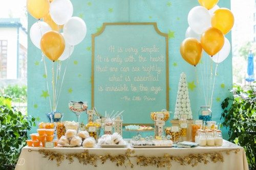 The Little Prince-Themed Boy Party | Philippines Children's Party Blog