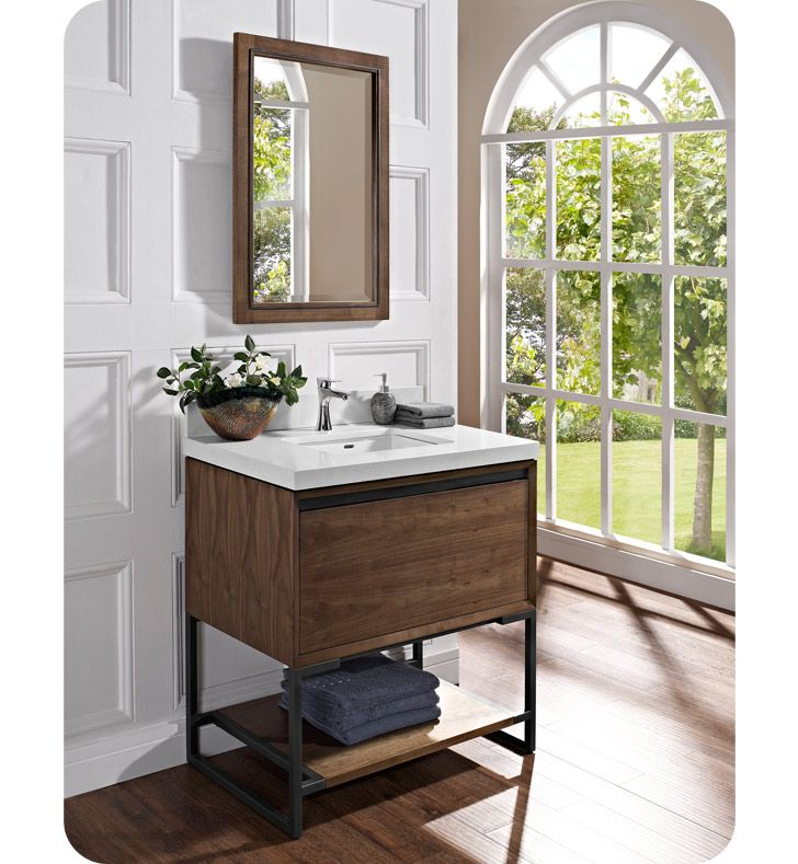 Web Photo Gallery Fairmont Designs Vanity Natural Walnut Bathroom Vanities Only HMS Stores