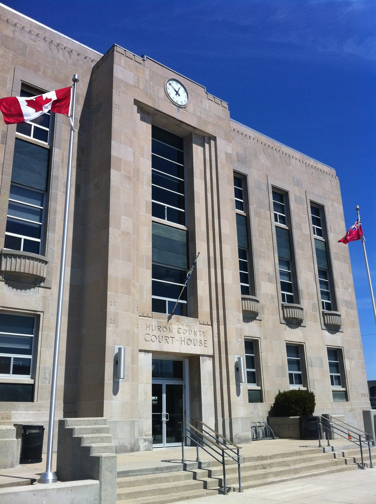 Huron County Courthouse, downtown Goderich Ontario #Goderich  #TheSquare