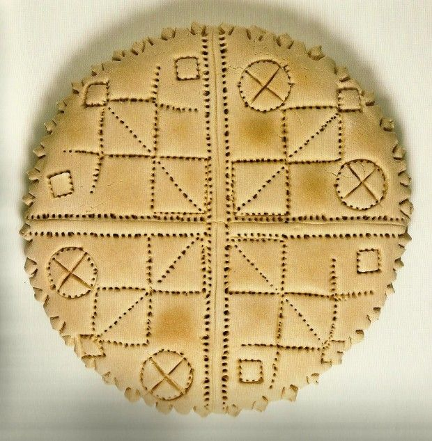 """Πλουμιστά Ψωμιά της Κύπρου από το βιβλίο της Δωρίτας Βοσκαρίδου """"Το Πλουμιστό Ψωμί της Κύπρου"""", εκδ Νόστος. Βρίσκονται στο Μουσείο Το Πλουμιστό Ψωμί στη Λεμεσό"""