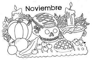 Dibujos para colorear, Dia de muertos II - Paperblog