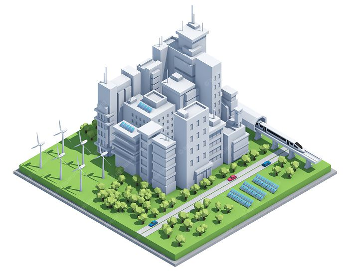 low poly city - Google Search | 3D low poly | Low poly 3d, Low poly