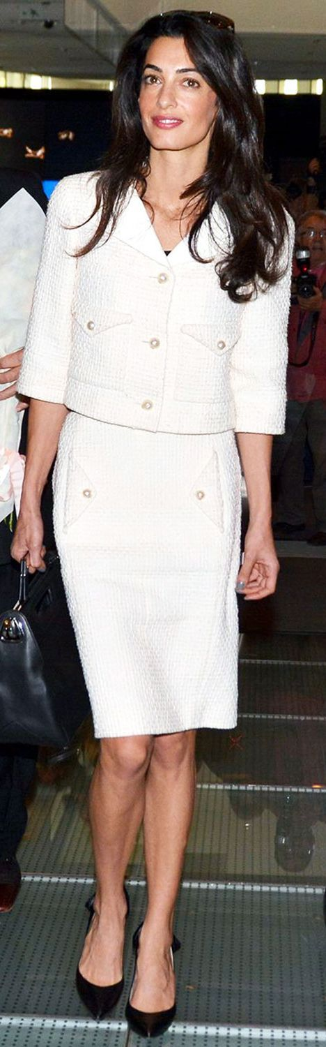 Awesome Business Casual Outfit Top 10 Amal Clooney Street Style Looks and How You Can Get the Look for Less!... Check more at http://24shopping.cf/my-desires/business-casual-outfit-top-10-amal-clooney-street-style-looks-and-how-you-can-get-the-look-for-less/