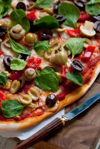 Provolini Antipasti Pizza...4 ingredients and you've made deliciously Italain