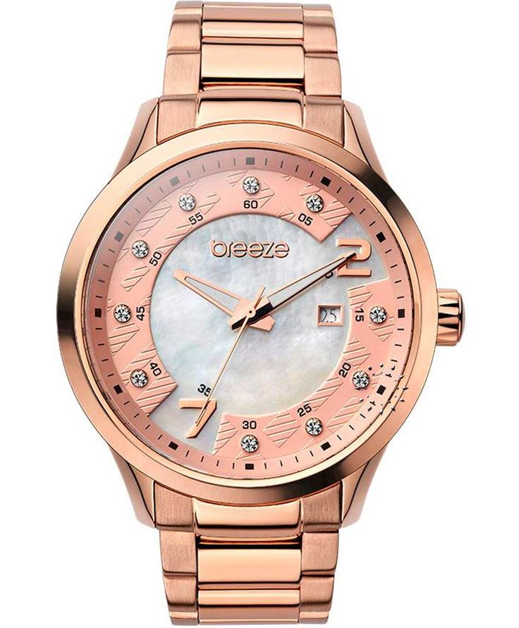 BREEZE Fairy Tale Rose Gold Stainless Steel Bracelet Τιμή: 150€ http://www.oroloi.gr/product_info.php?products_id=35216