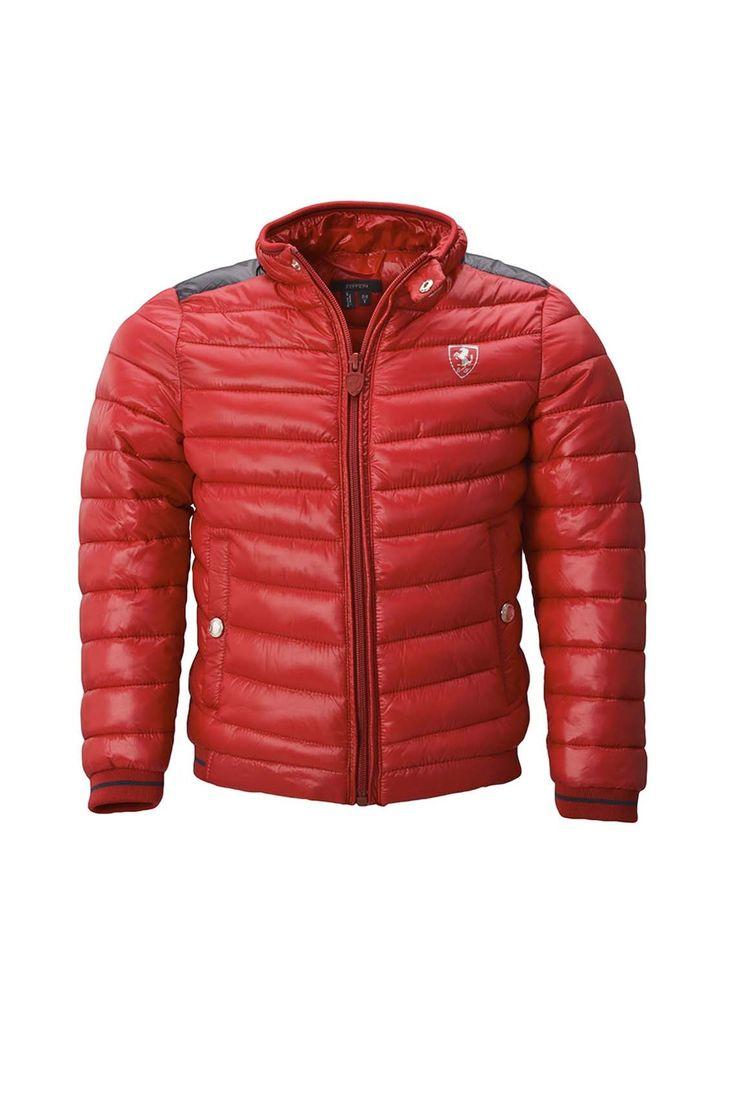 Однотонная стеганая куртка на молнии с контрастной вставкой http://oneclub.ua/kurtka-33365.html#product_option4