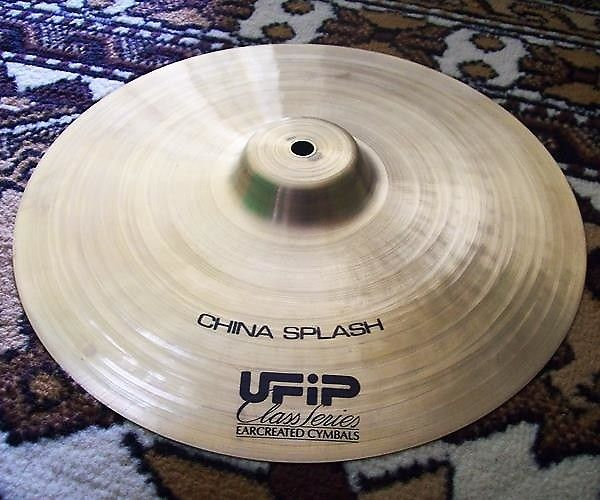 """For sale: UFIP Class - Classic china splash 13"""" Made in Italy.Description:This cymbal is Never Used (Ex-Display).The condition is perfect / No Crack.NEWS:  We are now also involved with online magazine from  portalmusikmalang.com for others support, that is Every purchase, we'll  give you a free gift (music CD) from a band of our city.Payment Policy:PAYPAL Payment must be received within 2 days of auction close, or Item will be relisted.Please contact us first if you need to file..."""