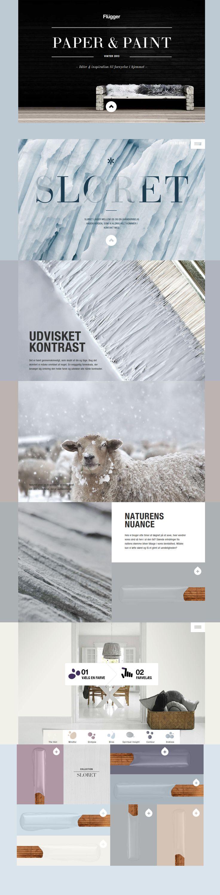 Paper & Paint Magazine http://www.awwwards.com/web-design-awards/paper-paint-magazine #webdesign #inspiration #UI #Design